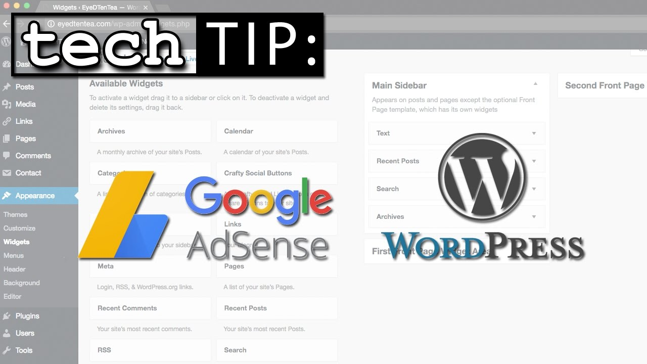 how to add test ads for the website