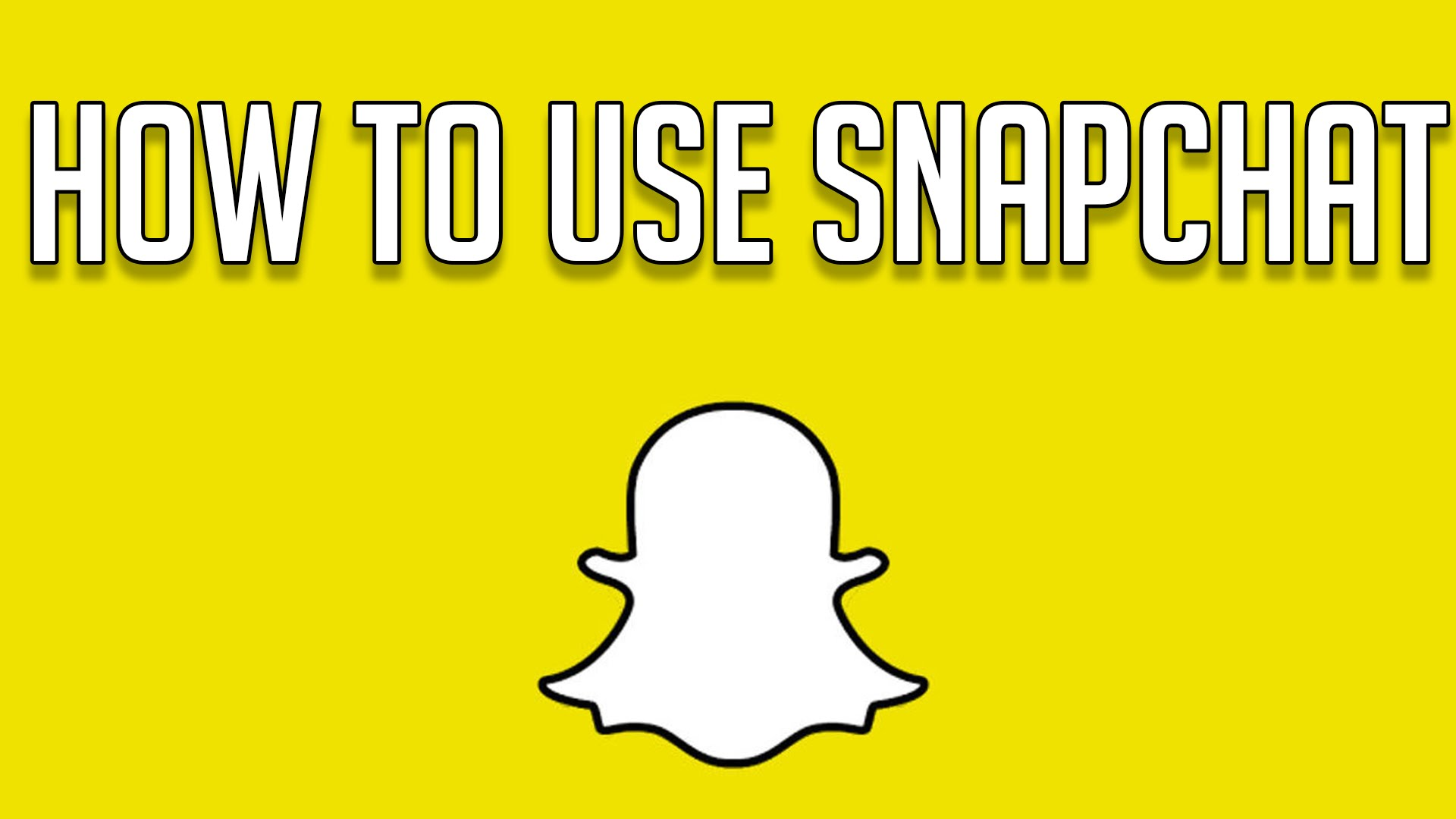 HOW TO USE SNAPCHAT FOR BEGINNERS - Snapchat Tricks and ...